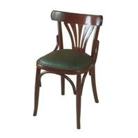 Mobilier de brasserie tabouret de bar chaise bistrot et - Chaise de bistrot en bois ...